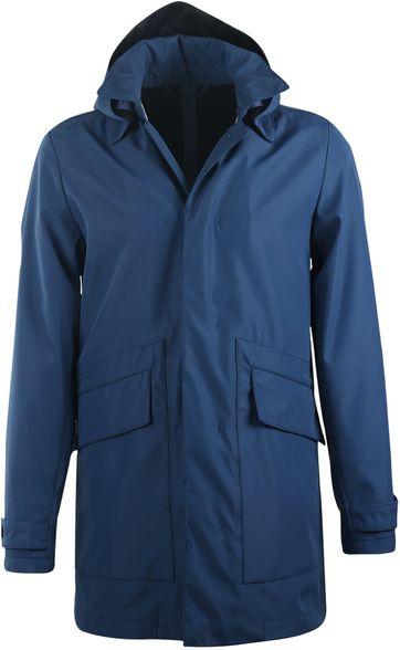 Suitable Regen Mantel Davon Blauw