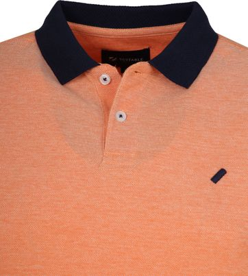 Suitable Respect Claas Poloshirt Orange