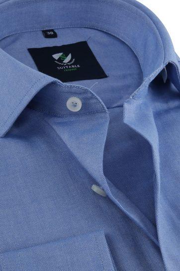 Suitable Respect Hemd Blauw