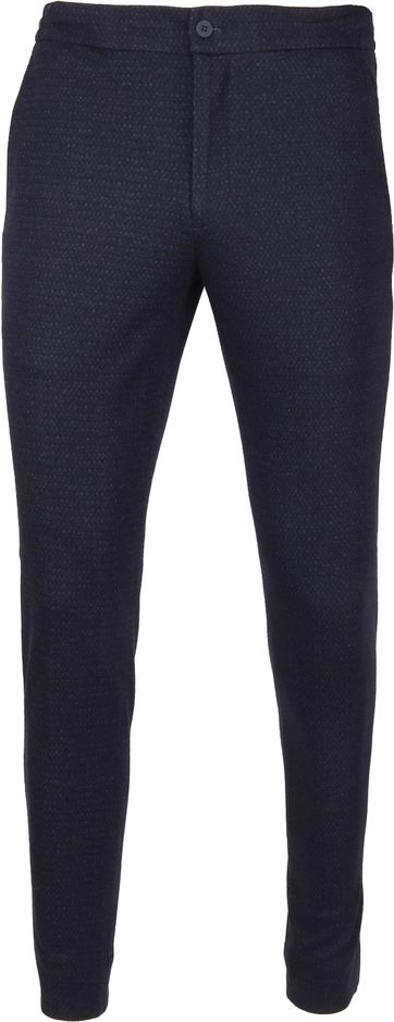 Suitable Respect Jog Pantalon Dessin Navy