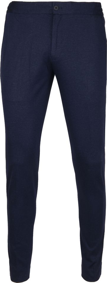 Suitable Respect Jog Pantalon Melange Navy