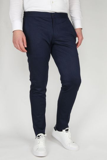 Suitable Respect Jog Trousers Melange Navy