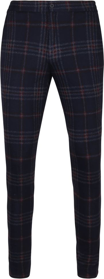 Suitable Respect Jog Trousers Pane Navy