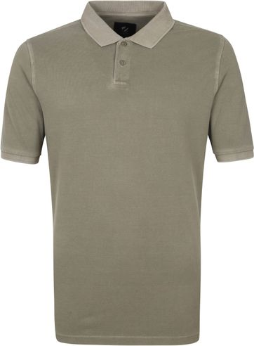 Suitable Respect Pete Polo Shirt Taupe