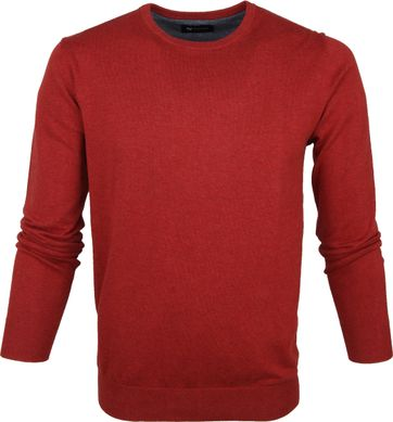 Suitable Respect Sweater Rince Burgundy