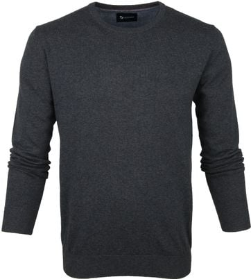 Suitable Respect Sweater Rince Dunkelgrau