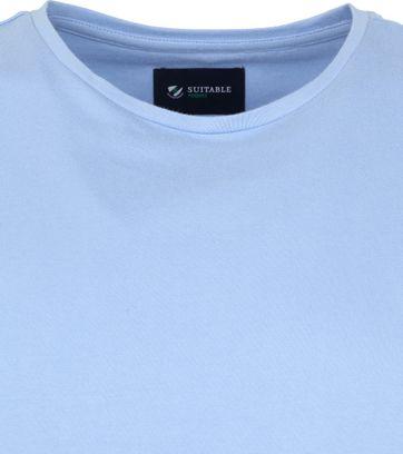 Suitable Respect T-shirt Jim Lichtblauw