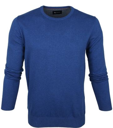 Suitable Respect Trui Rince Blauw