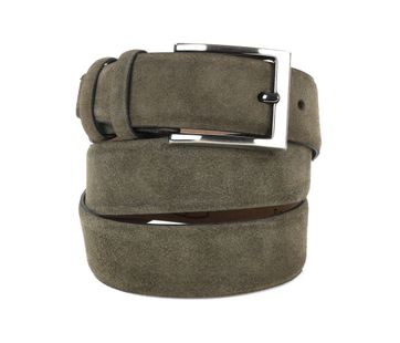 Suitable Riem Suede Groen