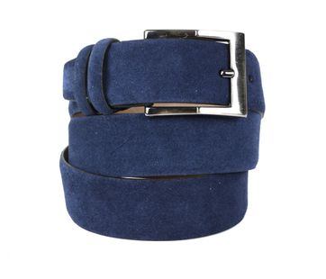 Suitable Riem Suede Navy