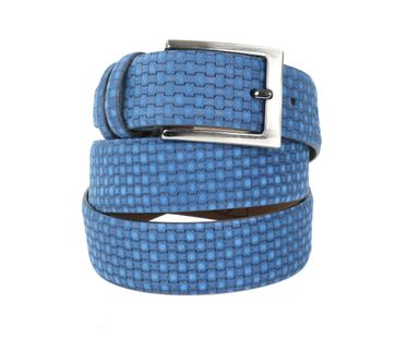 Suitable Riem Vlecht Blauw