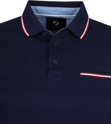 Suitable Rolf Polo Donkerblauw