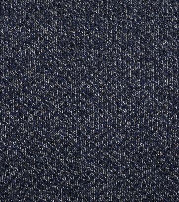 Detail Suitable Rollkragenpullover Baumwolle Blau