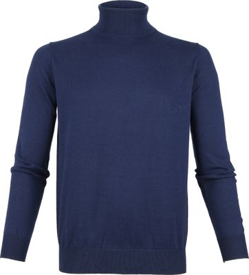 Suitable Rollkragenpullover Dunkel Blau