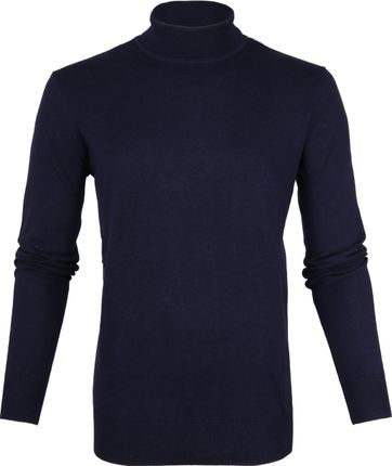 Suitable Rollkragenpullover Dunkelblau