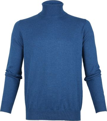 Suitable Rollkragenpullover Petrol Blau