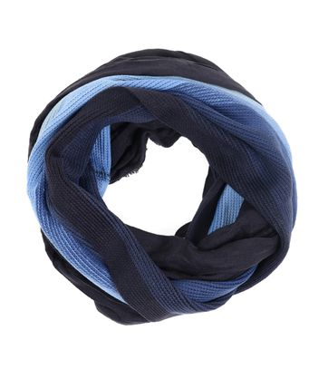 Suitable Round Scarf Striped 17-17