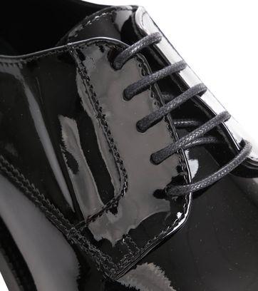 Suitable Schnürschuhe Lackleder Schwarz