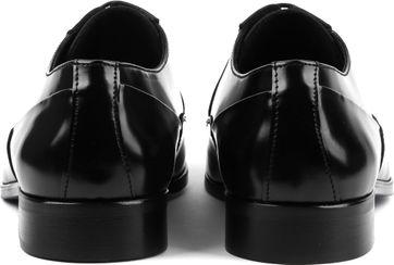 Suitable Schwarze Schnürschuhe Lackleder