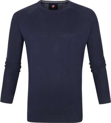 Suitable Scott Pullover Donkerblauw