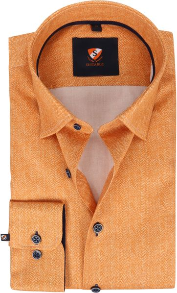 Suitable Shirt 224-4 Orange
