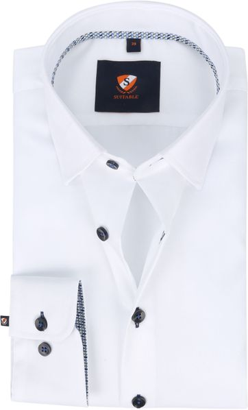Suitable Shirt 227-1 Non-Iron White