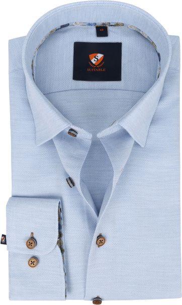 Suitable Shirt 227-8 Light Blue