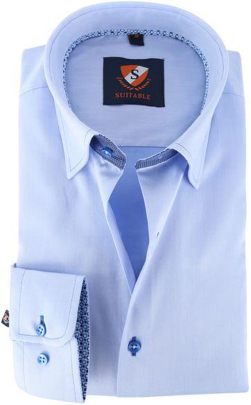 Suitable Shirt Blue 141-2
