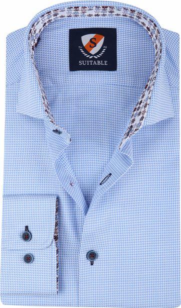 Suitable Shirt Blue 210