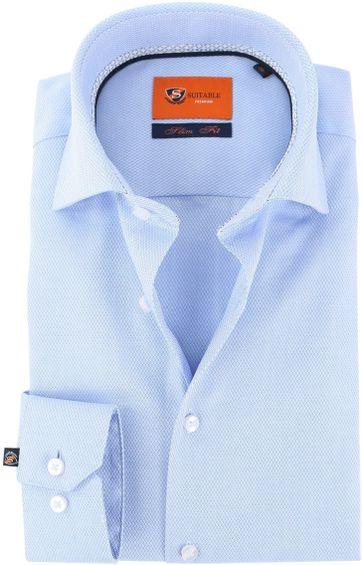 Suitable Shirt Blue Dessin