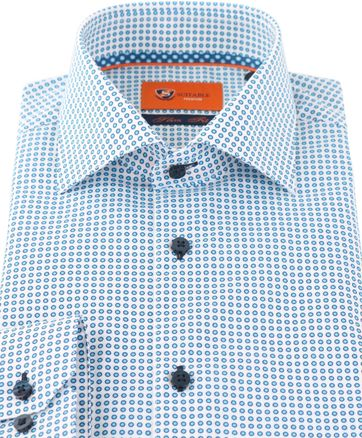Suitable Shirt Blue White D71-19