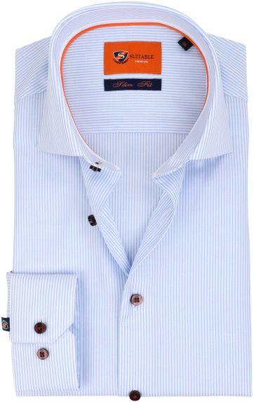 Suitable Shirt Cotelet Blue