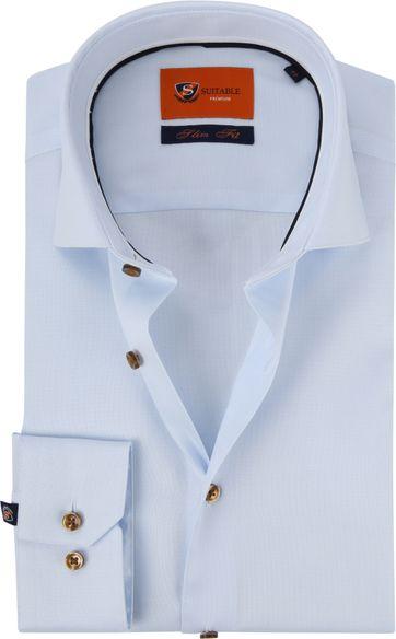 Suitable Shirt Dobby WS Light Blue