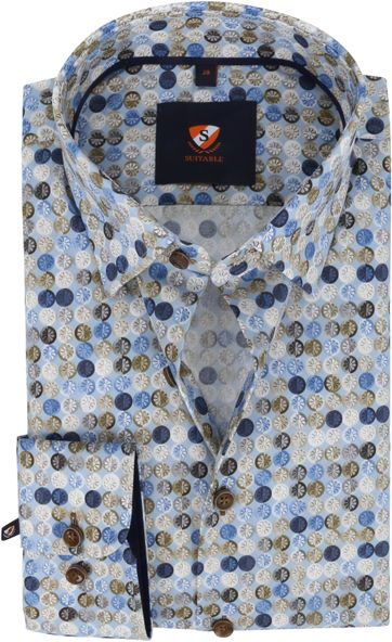 Suitable Shirt Graphic Pattern Multicolour