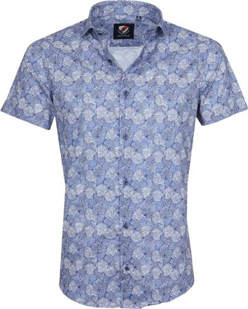 Suitable Shirt Leaves Blue