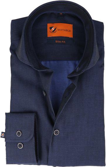 Suitable Shirt Non Iron Navy Twill