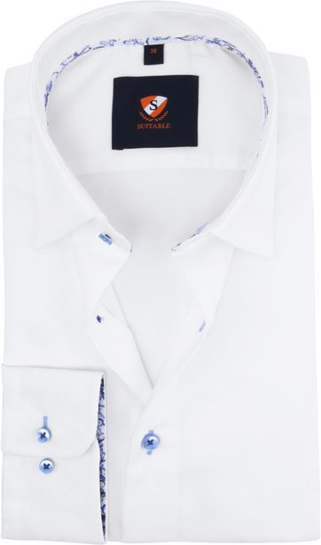 Suitable Shirt Non-Iron White