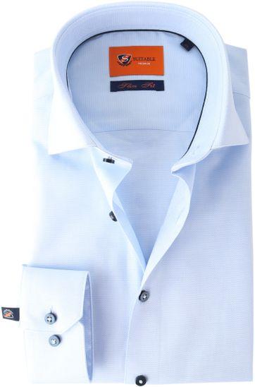 Suitable Shirt Oxford Blue