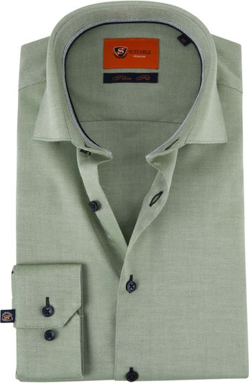 Suitable Shirt Oxford Green