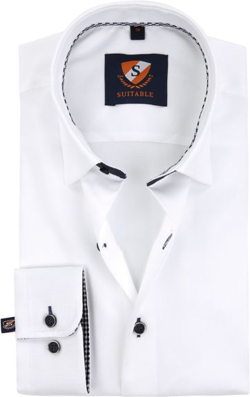 Suitable Shirt Oxford Whity