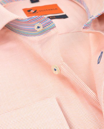 Suitable Shirt Pinpoint Orange 174-3