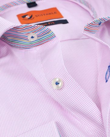 Suitable Shirt Pinpoint Pink 174-4