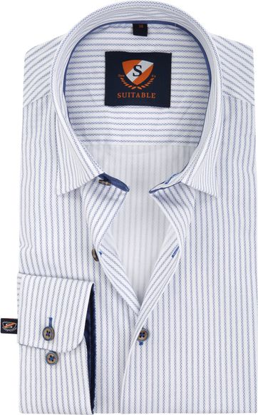 Suitable Shirt Print Stripe