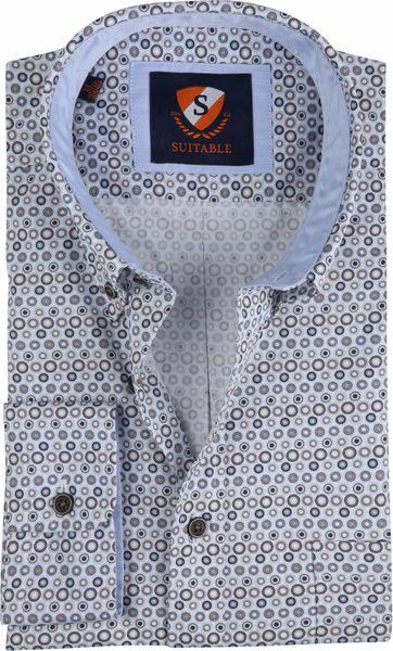Suitable Shirt SF Blue Dots
