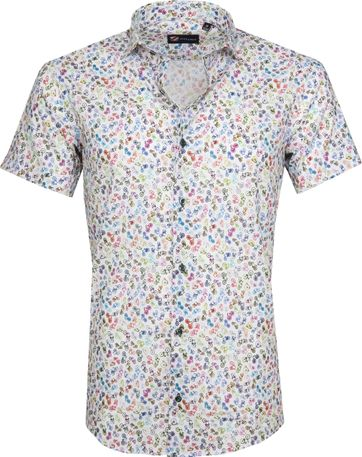 Suitable Shirt SS Multicolour Bicycle