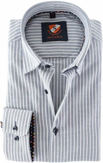 Suitable Shirt Stripe 157-4