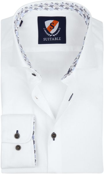 Suitable Shirt TF Oxford White