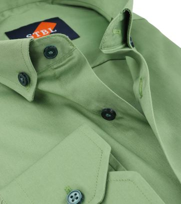 Suitable Shirt Uni Green