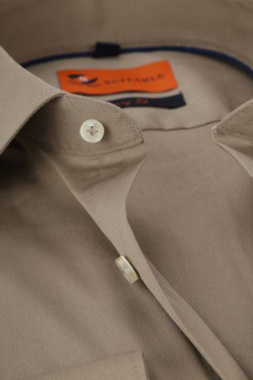 Suitable Shirt Uni Khaki