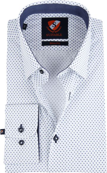 Suitable Shirt Wesley Dots